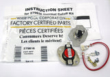 279816 Genuine OEM Dryer Thermostat Kit