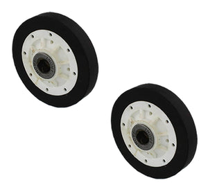 (2 Pack) ER37001042 Dryer Drum Roller Replaces WP37001042