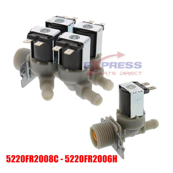 ER5220FR2008C - ER5220FR2006H Washer Water Valve Set Replaces 5220FR2008C, 5220FR2006H