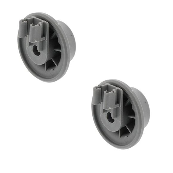 (2 Pack) ER611475 Dishwasher Lower Rack Roller Replaces 00611475, 611475
