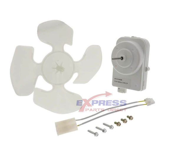 ERW10124096 Refrigerator Condenser Fan Motor Replaces W10124096