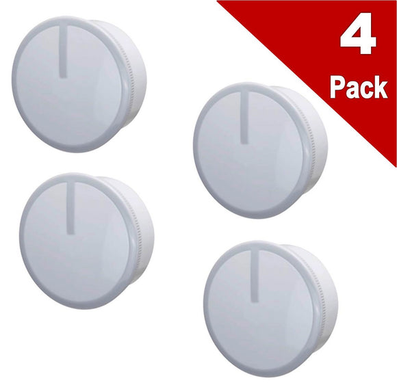 (4 Pack) ERW10490037 Control Knob Replaces WPW10490037, W10490037