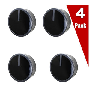 (4 Pack)  ERW10490038 Range Control Knob Replaces WPW10490038