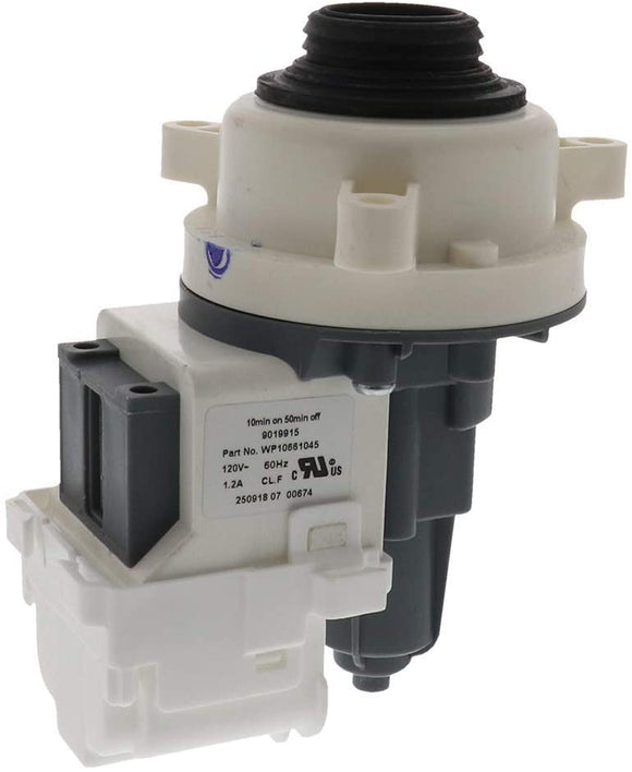 ERW10661045 Washer Drain Pump Replaces WPW10661045