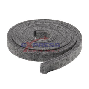 ERWE09X20441 Dryer Lower Front Felt Seal Replaces WE09X27634, WE09X20441
