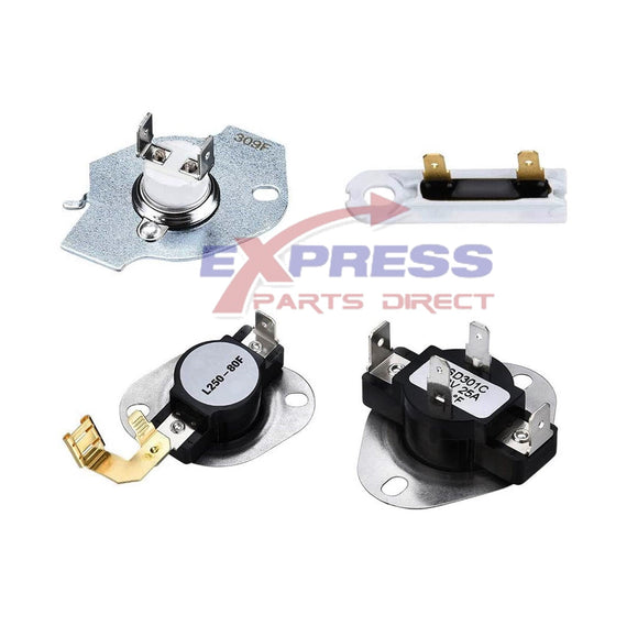 EXP6974 Dryer Thermostat Set Replaces 3977393, WP3392519, WP3977767, WP3387134