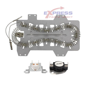 EXPSHT2 Dryer Heating Element & Thermostat Kit Replaces DC47-00019A, DC47-00018A, DC96-00887C
