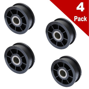 (4 Pack) ERY54414 Dryer Idler Pulley Replaces WPY54414, Y54414
