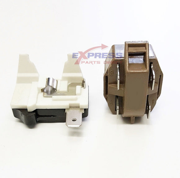 EXP1C4TM Refrigerator Overload and Relay Replaces 4387913, WP4387835