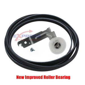 EXP645 Dryer Idler Pulley and Belt Set Replaces 6602-001655, DC96-00882C