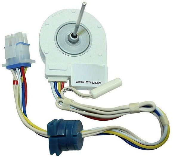EXPWR60X10074 Refrigerator Evaporator Fan Motor Replaces WR60X10074