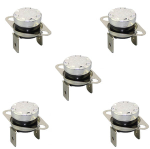 (5 Pack) KSD301-85C (85C, 250V, 10A) Thermostat Temperature Thermal Control Switch