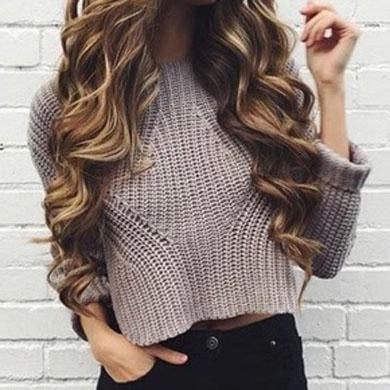 AMBER Knitted Sweater
