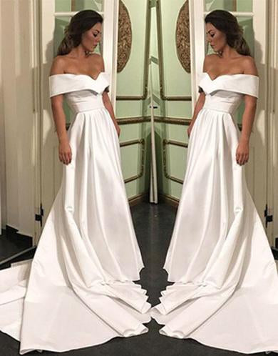 ANASTASIA off shoulder prom dress