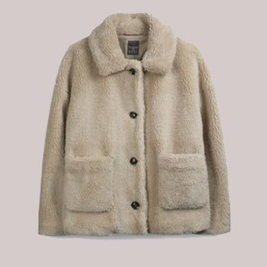 AMELIE FLEECE COAT JACKET