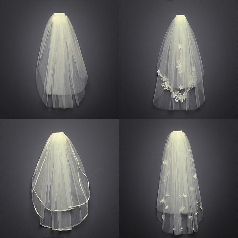 Tulle Lace Veil Beach Accessories
