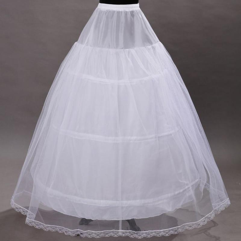 Women Petticoats In Stock Hot Sale Cheap Petticoat For Weddings Bridal Gown Dress Underskirt Crinoline Wedding Accessories 2018