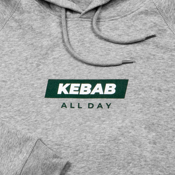 Kebab all day hættetrøje