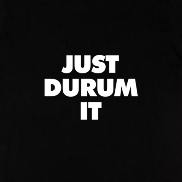 Just Durum It T-shirt - sort