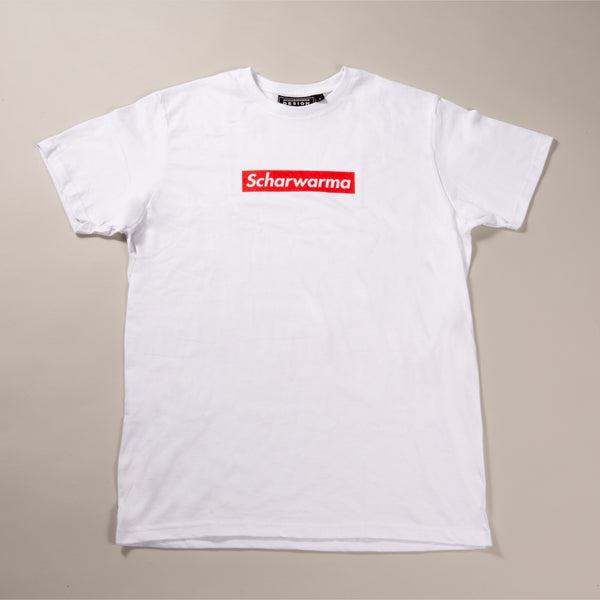 Scharwarma box logo T-shirt