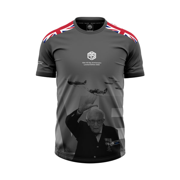 Tom Moore Limited Edition 75th VE Day Jersey
