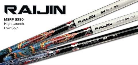 VA Composites RAIJIN Hybrid Shaft