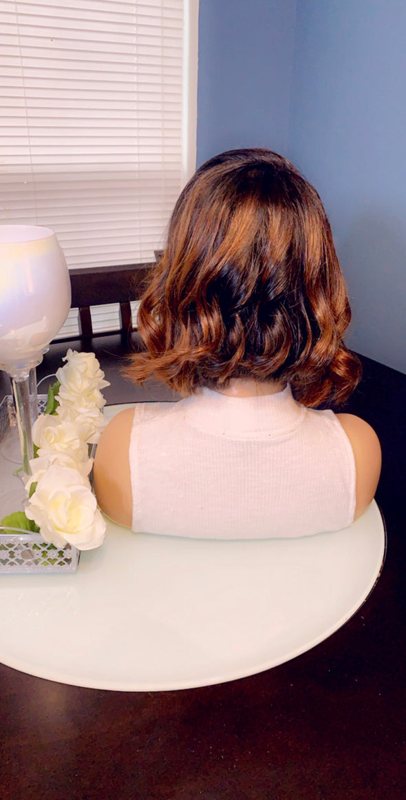 Virgin Lace Frontal Wig- *Sasha*