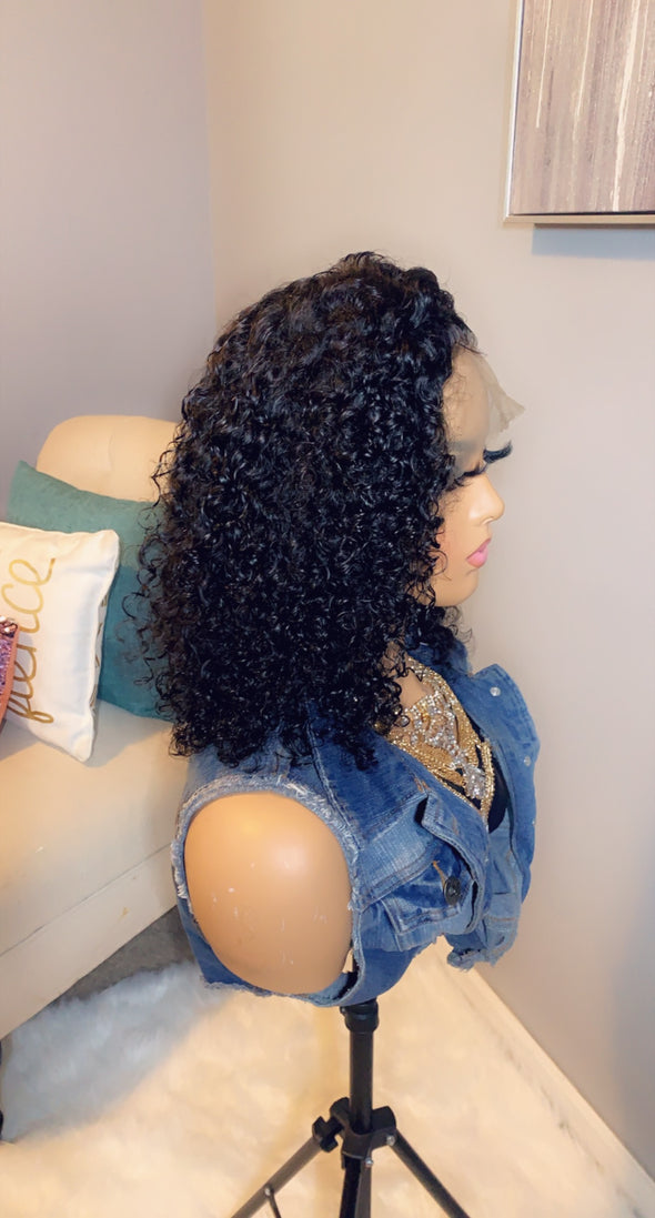 Virgin Lace 360 Frontal wig *Janet*