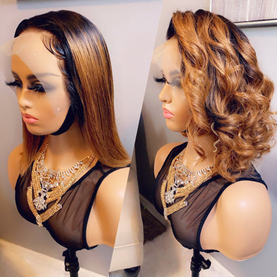 Virgin Lace frontal wig *Tiffany*