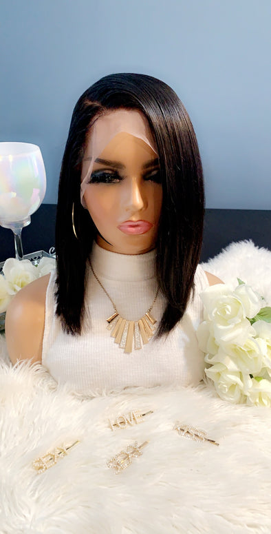 Virgin Lace Frontal Wig- *Chanel*