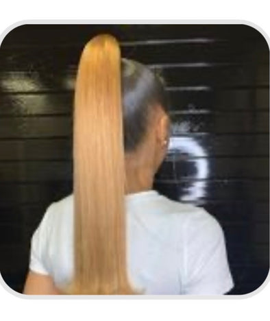 Ombre Sleek Ponytail 18""