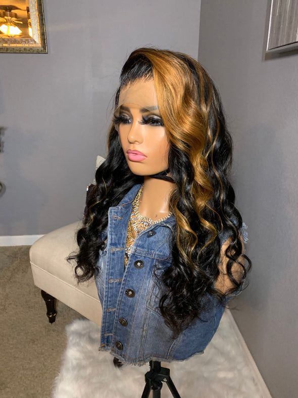 Virgin Lace Frontal wig - *Kym*