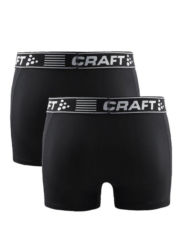 CRAFT UNDERWEAR GREATNESS BOXER 3-INCH 2-PACK MEN'S