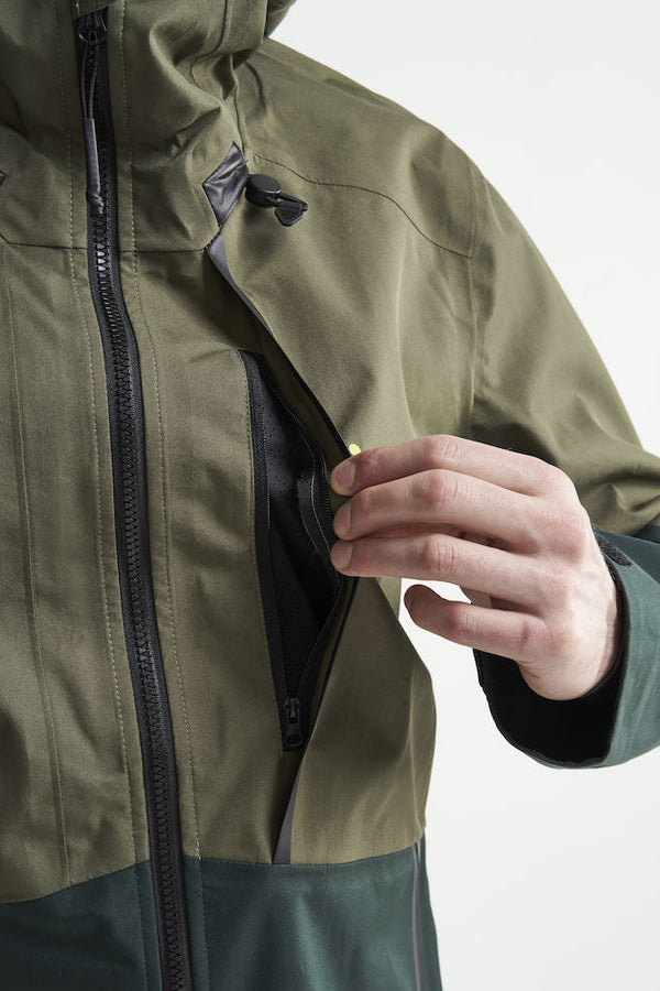 CRAFT WARM WATER REPELLENT SHELL OUTDOOR JACKET MEN