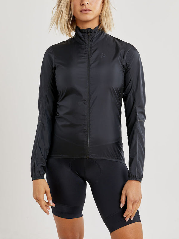 CRAFT ESSENCE LIGHT WIND BIKE JACKET WOMEN