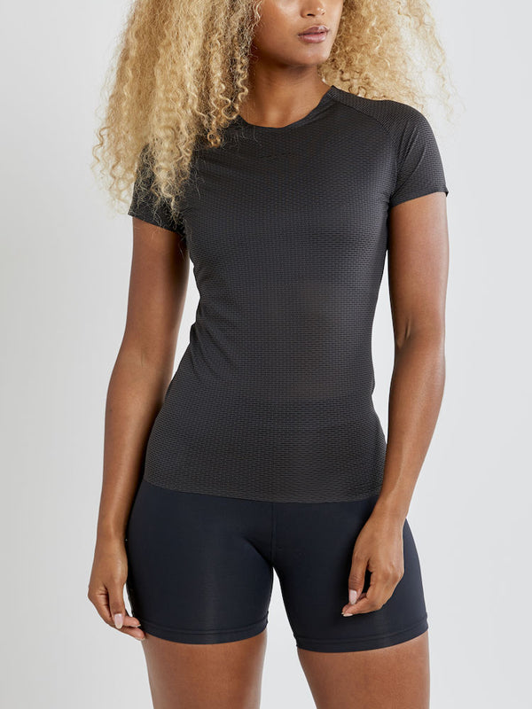 CRAFT BASELAYER PRO DRY NANOWEIGHT SHORT SLEEVE WOMEN