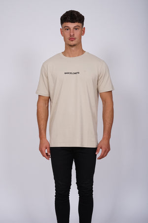 Light Sand Logo T-Shirt