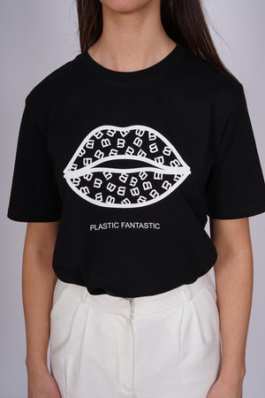 Lips Plastic Fantastic Black