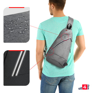 Sling Bag Crossbody Backpack | Everyday Sling Bag | Sling Backpack