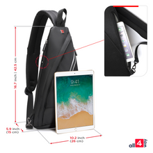 Charger l'image dans la galerie, Sling backpack | Sling Bag Crossbody Backpack | Everyday Sling Bag