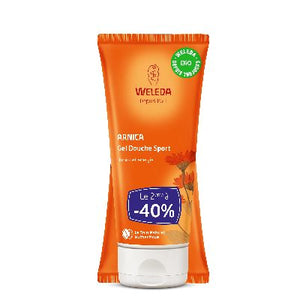 Duo Gel Douche Sport Arnica 2 X200 Ml Weleda