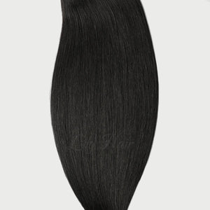 #1 Jet Black Color Fusion Extensions