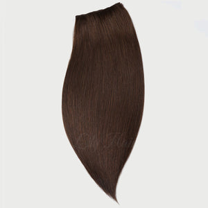 #2 Dark Chocolate Color Clip-in Extensions-11pc.