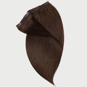 #4 Chestnut Color Clip-in Extensions-11pc.