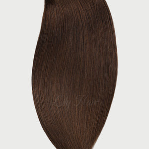 #4 Chestnut Brown Color Fusion Extensions