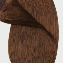 Load image into Gallery viewer, #6 Cappuccino Brown Color Micro Ring Extensions