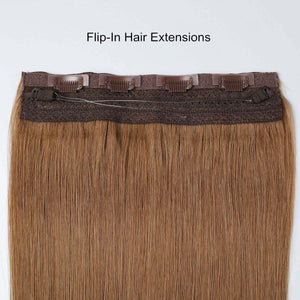 #2 Dark Chocolate Color Halo Extensions