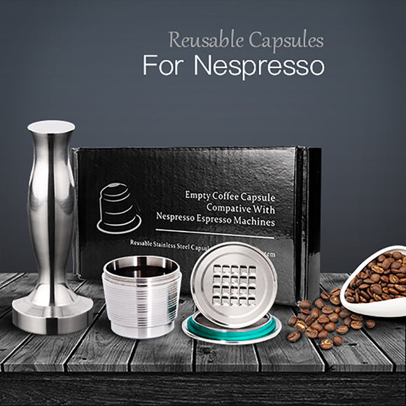 Reusable Coffee Pods for Nespresso™ Coffee Machines