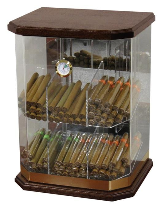The Franklin (Rich Solid Wood) Display Humidor (6141446226070)