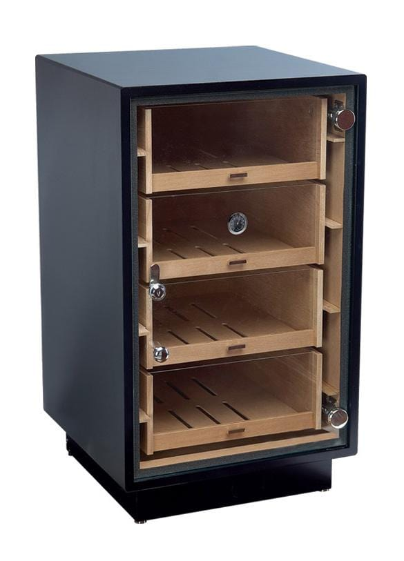 The Manchester (Matte Black) Cabinet Humidor (6131219169430)